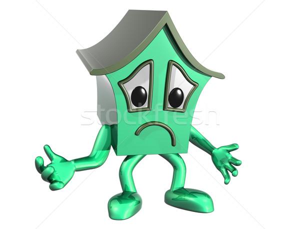 Sad house Stock photo © paulfleet