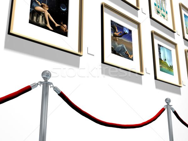 Art gallery Stock photo © paulfleet