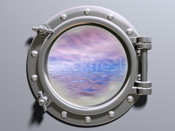 Ship porthole Stock photo © paulfleet