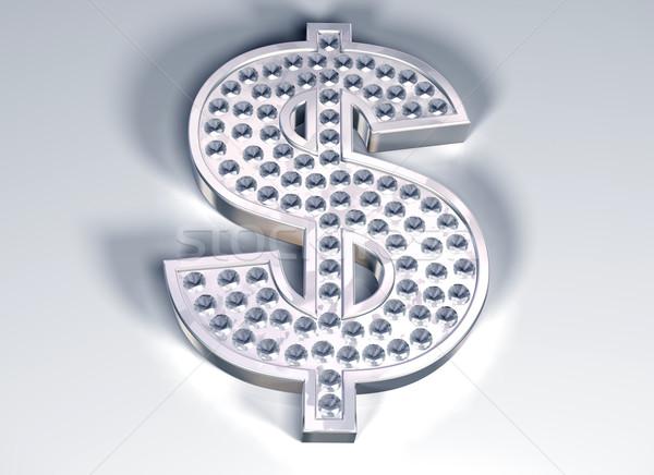 Diamond dollar Stock photo © paulfleet