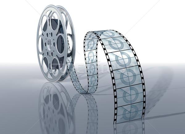 Movie reel Stock photo © paulfleet