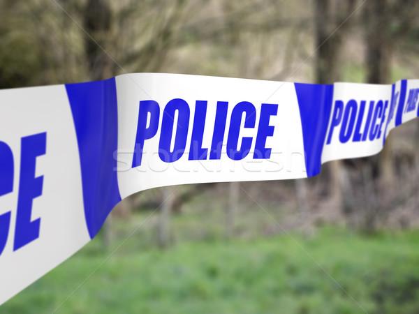 Police Cordon Stock photo © paulfleet