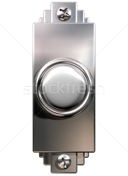 Art deco deurbel geïsoleerd illustratie elegante ring Stockfoto © paulfleet