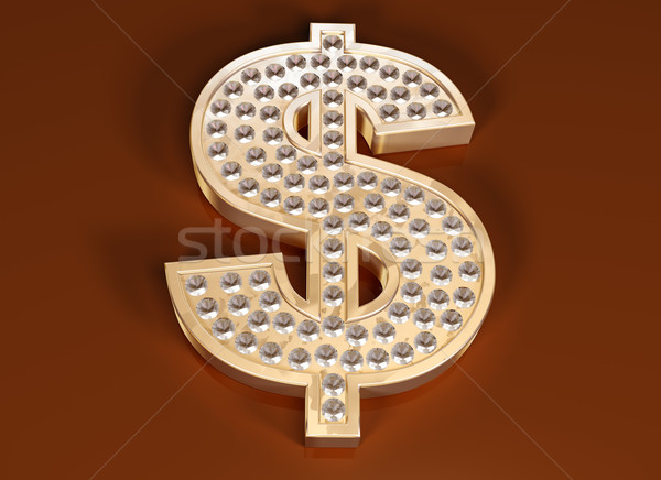 Dollar bling Stock photo © paulfleet