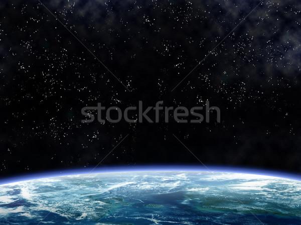 Orbiting the Earth Stock photo © paulfleet