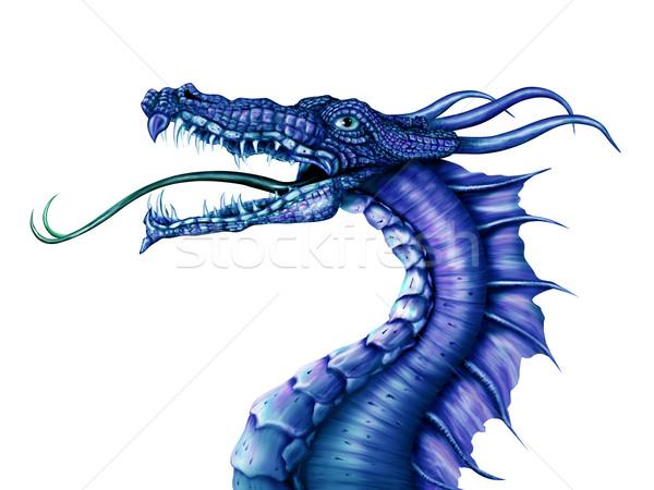 Blue Dragon Stock photo © paulfleet