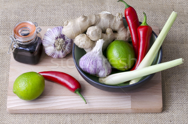 Thai ingredients Stock photo © paulfleet