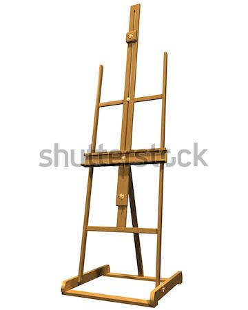 Artist easel Stock photo © paulfleet
