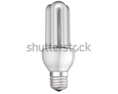 Energy saving light bulb Stock photo © paulfleet