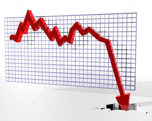Chart showing bad things Stock photo © paulfleet