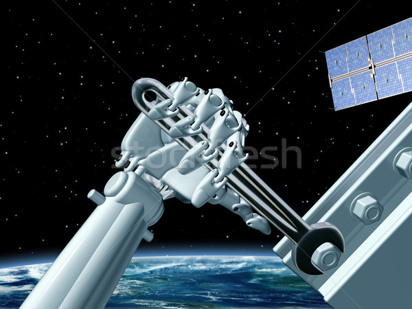 Space station maintenance Stock photo © paulfleet