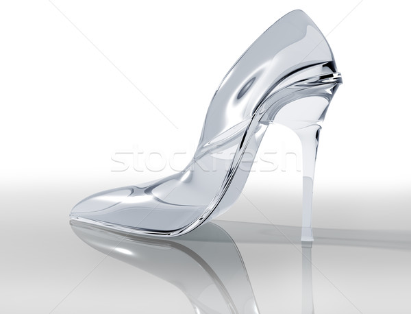 Glass slipper Stock photo © paulfleet