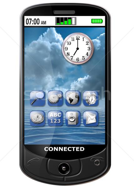 Smart Phone Stock photo © paulfleet