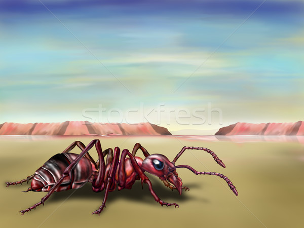 Surreal ant Stock photo © paulfleet