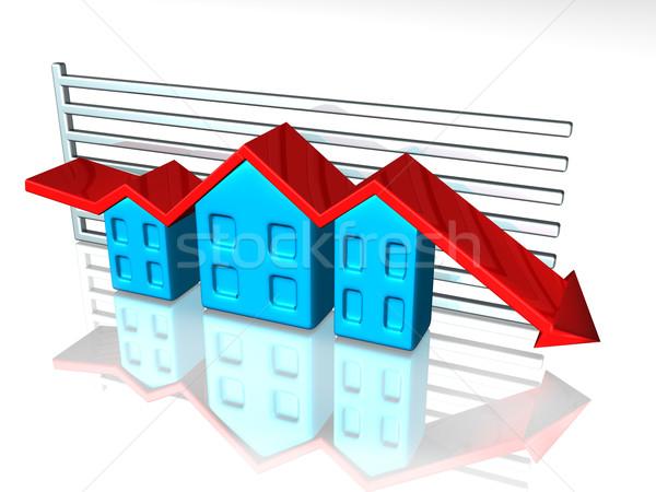 Housing market Stock photo © paulfleet
