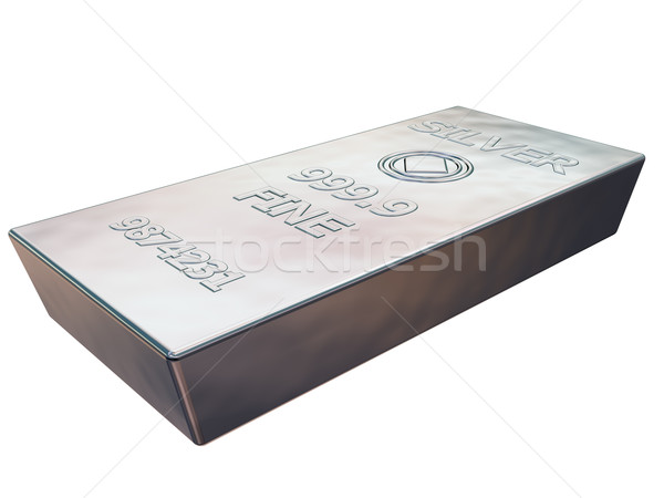 Silver bar Stock photo © paulfleet