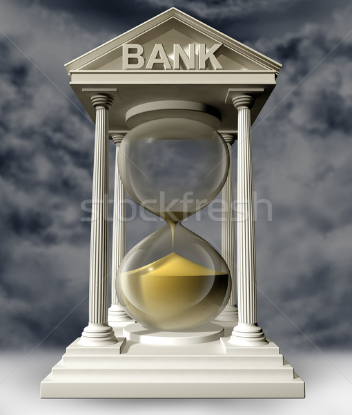 Time is running out for banks Stock photo © paulfleet