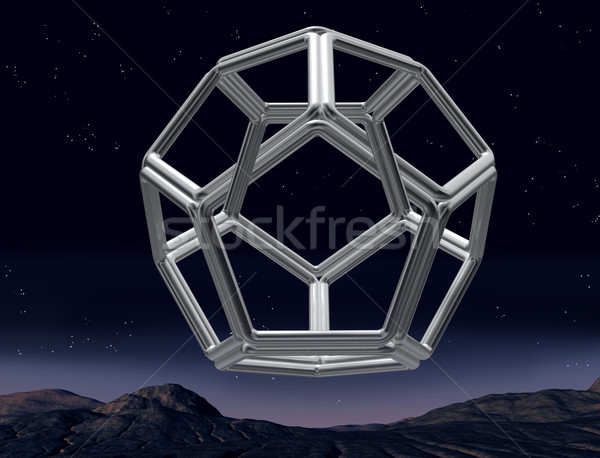 Impossible dodecahedron Stock photo © paulfleet