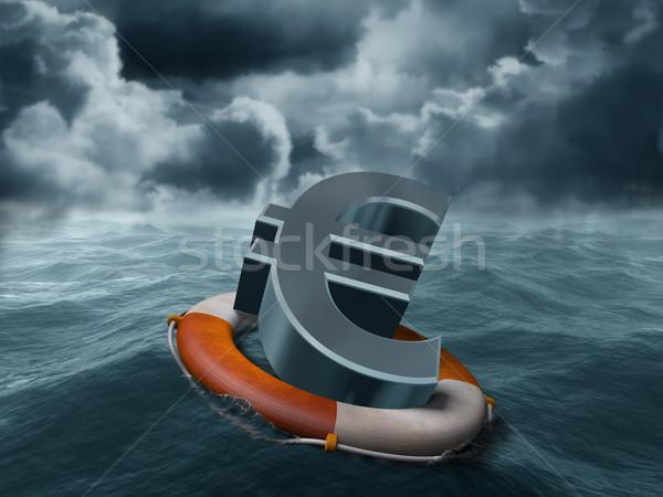 Euro rescue Stock photo © paulfleet