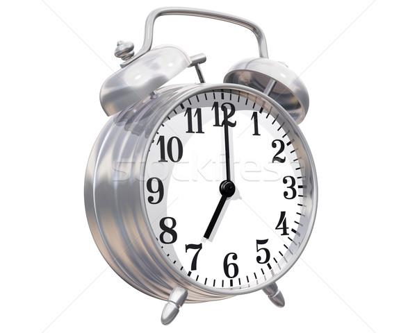 Alarm clock Stock photo © paulfleet