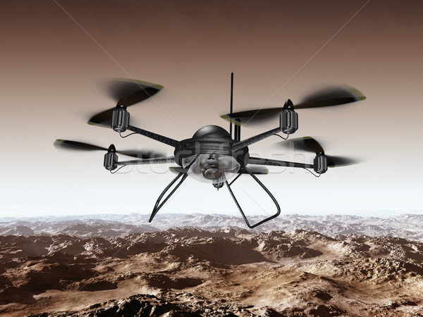Stock photo: Spy Drone