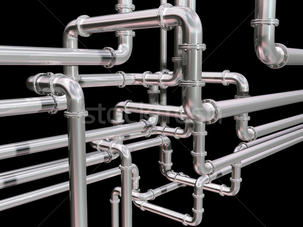 Pipeline maze Stock photo © paulfleet