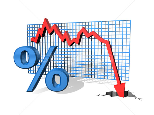 Percentage Down Stock photo © paulfleet