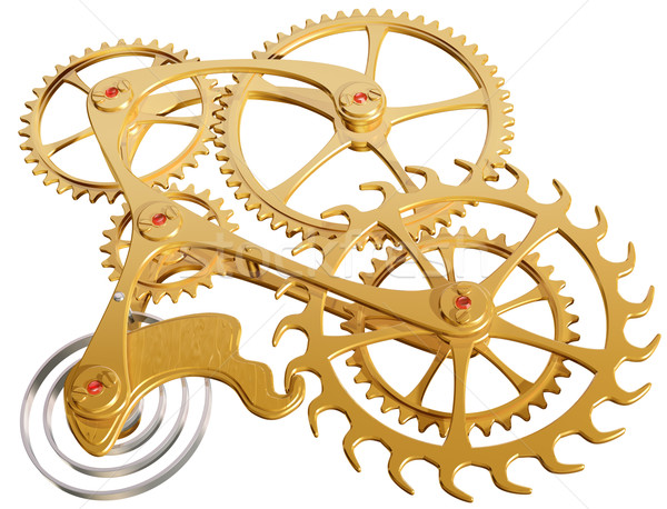 Gears and cogs Stock photo © paulfleet