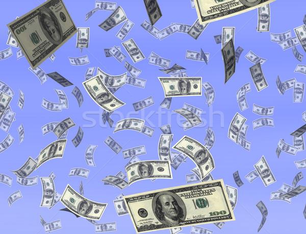 Money from heaven Stock photo © paulfleet