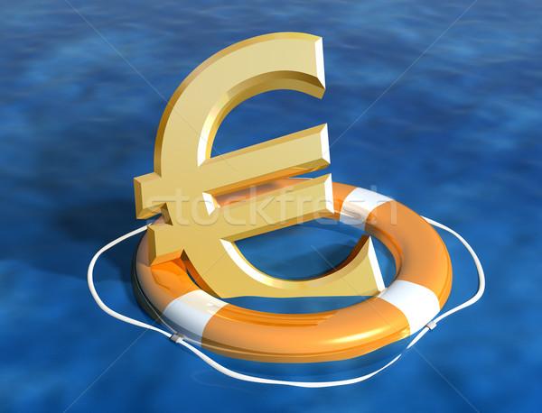 Euro örnek iş yardım Stok fotoğraf © paulfleet