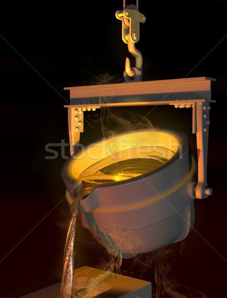 Molten metal Stock photo © paulfleet