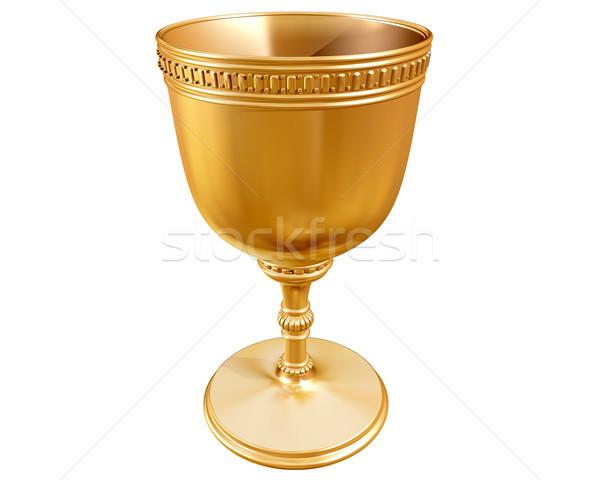 Golden goblet Stock photo © paulfleet