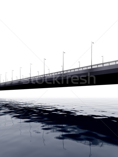 Beam bridge Stock photo © paulfleet