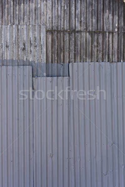 Old grooved steel texture Stock photo © paulfleet