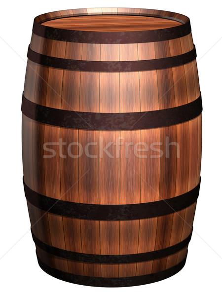 Old barrel Stock photo © paulfleet