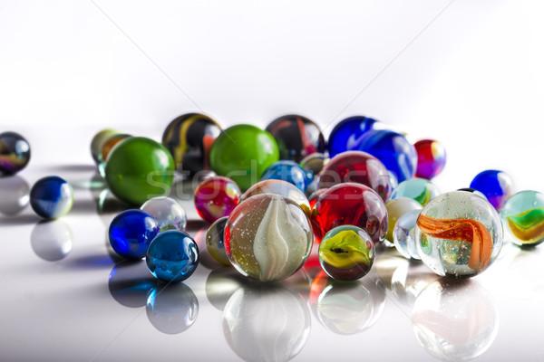 Group of Marbles Stock photo © paulfleet