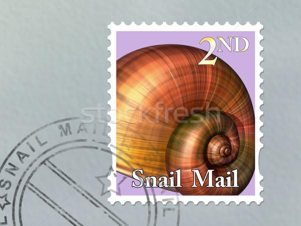Snail mail envelope Stock photo © paulfleet