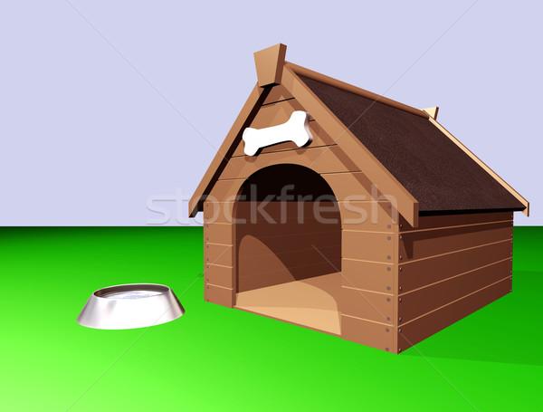 The Doghouse Stock photo © paulfleet