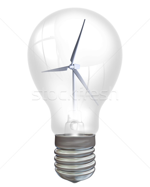 Wind Power Stock photo © paulfleet