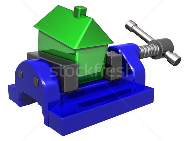 House price squeeze Stock photo © paulfleet