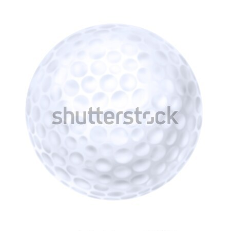 Isolated golf ball Stock photo © paulfleet