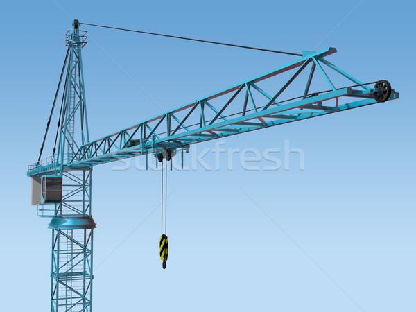 Imposing Crane Stock photo © paulfleet