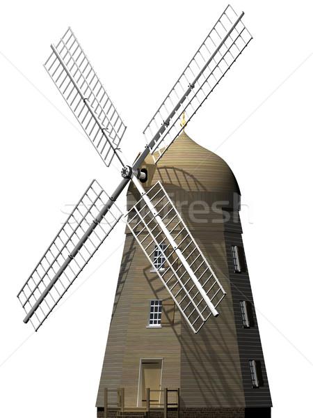 Ancient windmill Stock photo © paulfleet