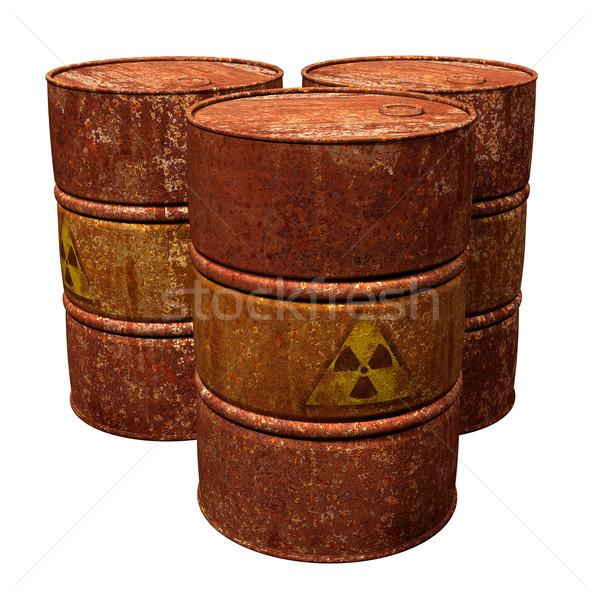 Toxic Waste Drums Stock photo © paulfleet