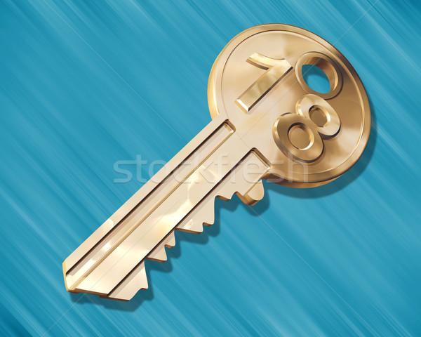 Key to the House Stock photo © paulfleet