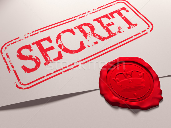 Secret document Stock photo © paulfleet