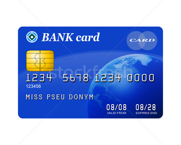 Isolated credit card Stock photo © paulfleet