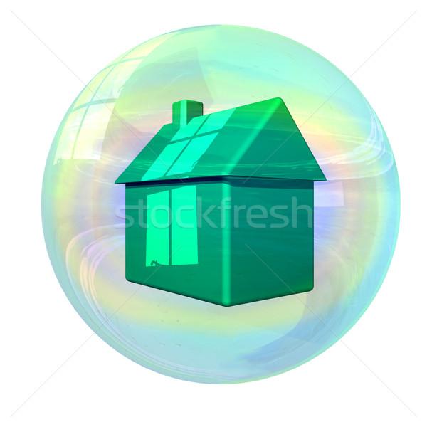 Housing bubble Stock photo © paulfleet