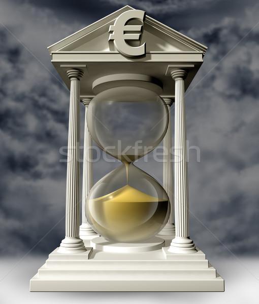 Funds running out Stock photo © paulfleet