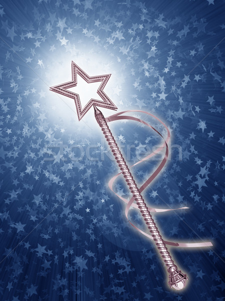 örnek platin peri star fantezi Stok fotoğraf © paulfleet